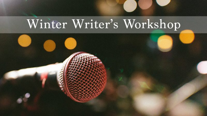 Winter Writer's Workshop